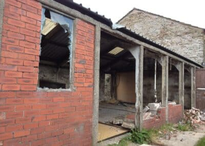 The original cookery school before transformation at The Wellbeing Farm