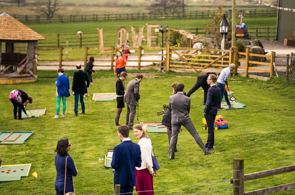 Ideas for that fun, quirky, magical wedding – Garden Games