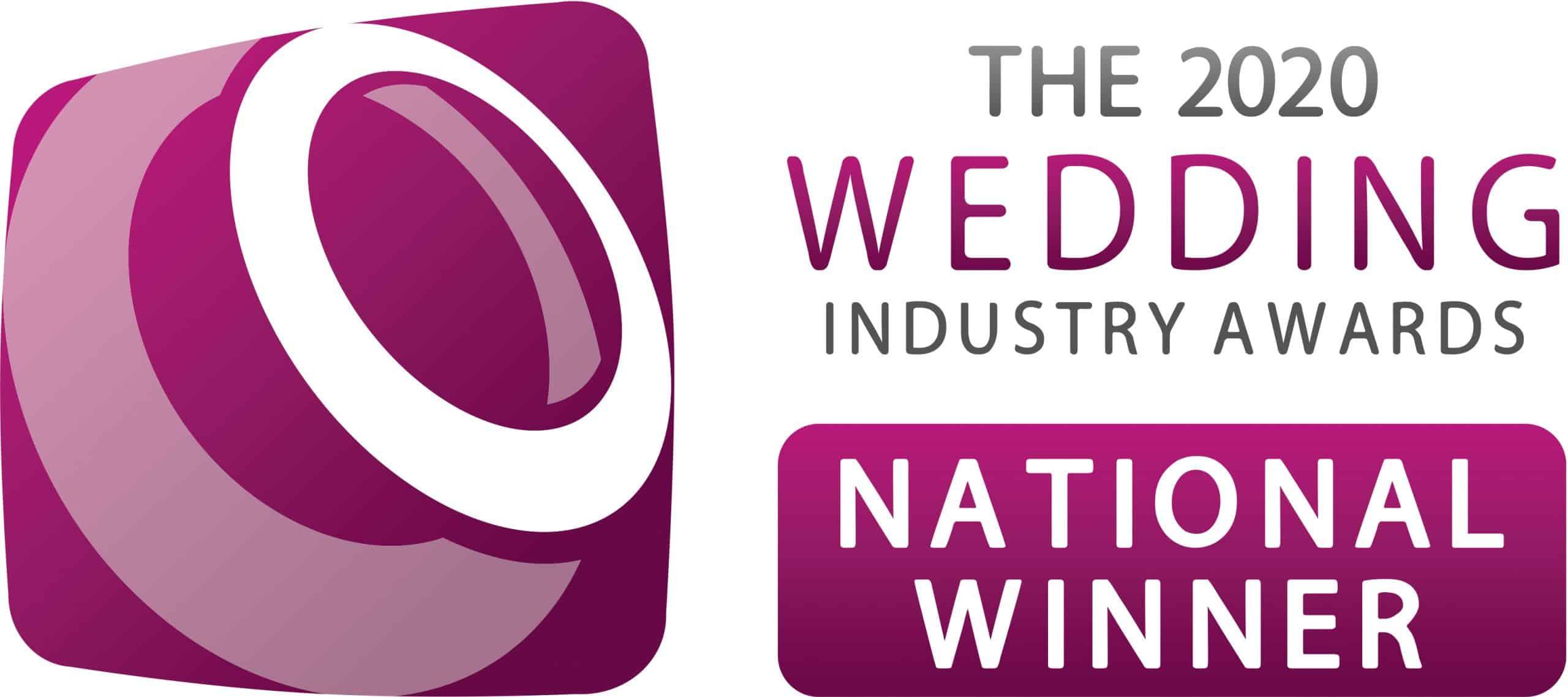 The 2020 Wedding Industry Awards National Winner
