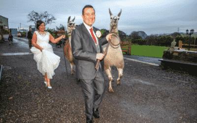 Winter wedding story: Catherine and Paul
