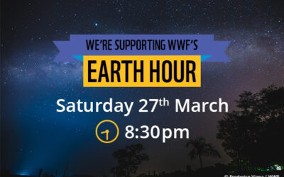 We're proud to support earth hour